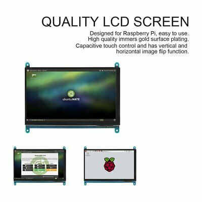Waveshare 7 inch Raspberry Pi Display 1024x600 capacitive Touch LCD HDMI WS01070