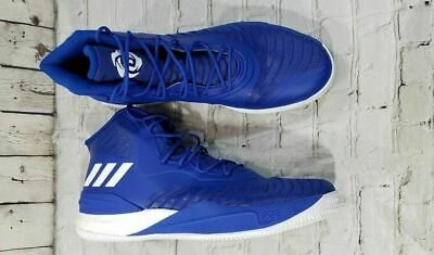 bfa27dff76f6 NEW Adidas D Rose 8 Basketball Shoes MENS SIZE 18 Blue White CQ1621 Derrick  Rose