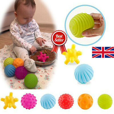 Baby Soft Massage Sensory Development Educational Funny Puzzle Ball Sound Toys