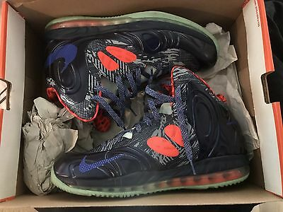 huge selection of aac61 a848c Nike Air Max Hyperposite Hyper Blue Energy Glow In The Dark  524862-402