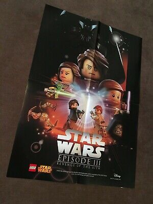 LEGO® Star Wars™ Episode III - Revenge of the Sith — DIN A2 Poster