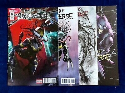 Edge of Venomverse #1 - 4 Issue Set - Lim Sanders Parnell Variants NM