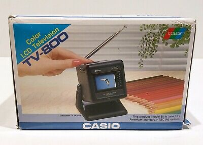 New Casio TV-800 Miniature Color LCD Television