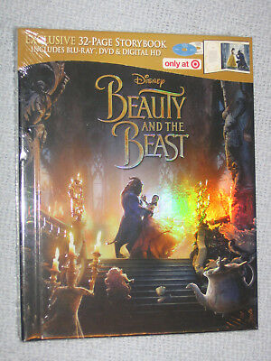 Beauty and the Beast (Blu-ray/DVD/Digital) Target Exclusive Storybook Digibook