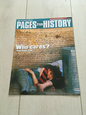 Pages from history part 6 Who cares? The Poor Law.