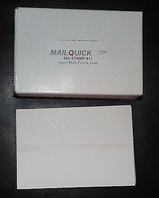 MailQuick Postage Meter Double Tape Sheets