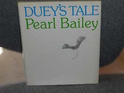 Duey's Tale SIGNED by PEARL BAILEY to Columnist IRV KUPCINET  PRE RELEASE COPY