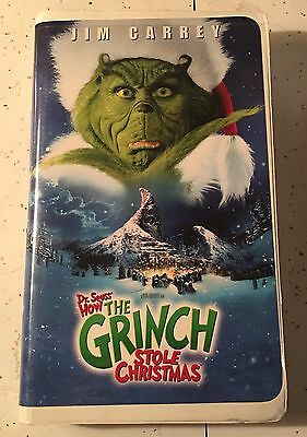 How The Grinch Stole Christmas 2000 Vhs.Dr Seuss How The Grinch Stole Christmas 2000 Vhs 6 29