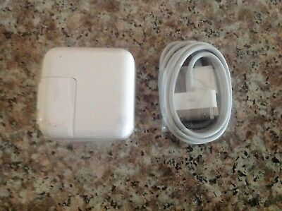 OEM 10W USB Wall Charger Block With Apple iPad Cord