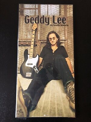 Geddy Lee - My Favorite Headache Foldout Poster (Dry Mounted)