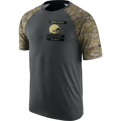 7dadc64f CLEVELAND BROWNS 2016 Nike Dri Fit Salute To Service Mens Shirt Xl ...