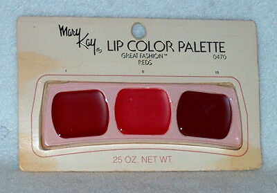 Mary Kay Lip Palette Great Fashion Reds # 0470