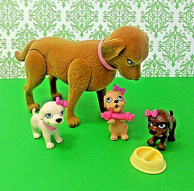 BARBIE PETS 11 PIECE DOG PARK PET PLAYSET W// DOGHOUSE #61175 NIP