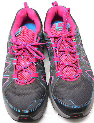 huge discount 09549 a9e6d NIKE Air Alvord 10 Women s Gray Pink Trail Running Shoes Sz US 10 EUR 42