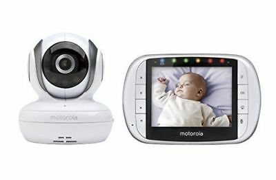 COOKJOY SM35RX 2.4GHz Video Baby Monitor with 3.5 inch LCD Screen