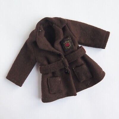 Patch BROWN COAT from SCHOOLDAYS 1966 | Vintage Pedigree Sindy Sister Doll