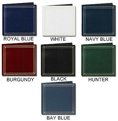 Pioneer BSP-46 Photo Albums Holds 204 4x6 Assorted Colors(Same shipping Any Qty)
