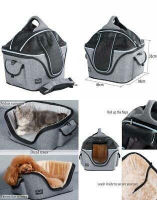 Petsfit Mobile Soft-sided Cat Carrier, Fabric Basket, Foldable Carrier Plus,...
