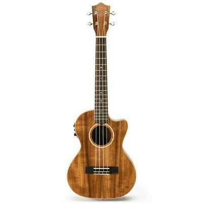 Ukulele Tenor Lanikai Acacia Series All Solid AC/EL Natural Satin
