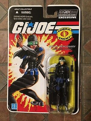 GI JOE FSS 8.0 10 Munitia Cobra Mercenary MISP