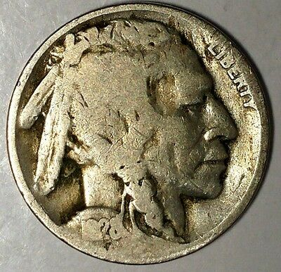 """1928-D 5C Buffalo Nickel, 18lsr2303 """"Only 50 Cents for Shipping""""*"""