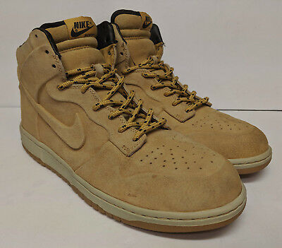 331f9530 Nike Dunk High Vt Prem Qs Wheat Pack US Size 13 Great Condition 486987-700