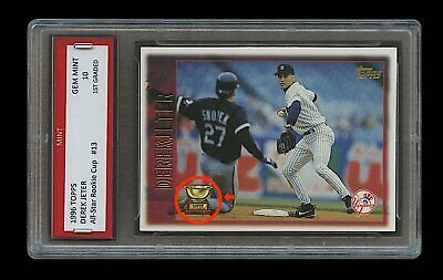 Derek Jeter Topps All Star Gold Rookie Cup Card 1st Graded 10 New York Yankees