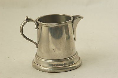 The Chromeart Mfg Co Silverplate Pitcher Sheffield England Kent Silversmith 3.5""