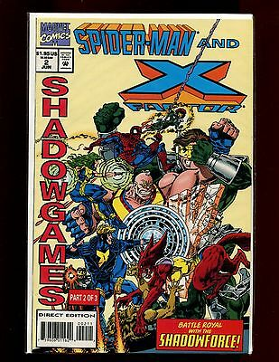 SPIDERMAN AND X-FACTOR 2(6.0)(FN)SHADOW GAMES PART 2-MARVEL(b052)