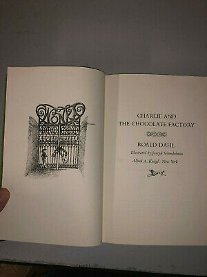 Charlie and the Chocolate Factory by Roald Dahl (1964, Hardcover)