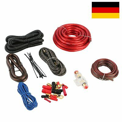 Astounding 1500 Watt 8 Gauge Car Audio Subwoofer Unterverstarker Amp Wiring Kit Wiring Digital Resources Dimetprontobusorg