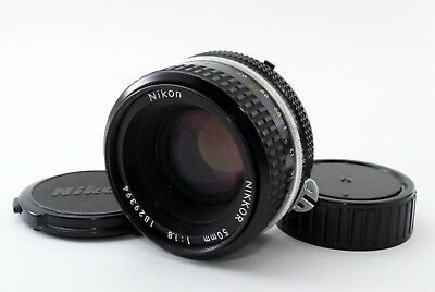 Nikon Ai Nikkor 50mm f/1.8 Manual Focus Lens [excellent] #512 from Japan F/S