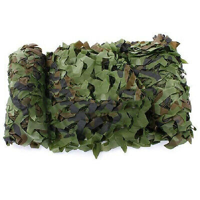 1X(Filet Camouflage Camo Camping 5m x 1.5m Chasse Foret Camouflable V9A8) 2U