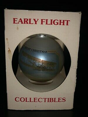 Early Flight Collectibles Merry Christmas Ornament 1981