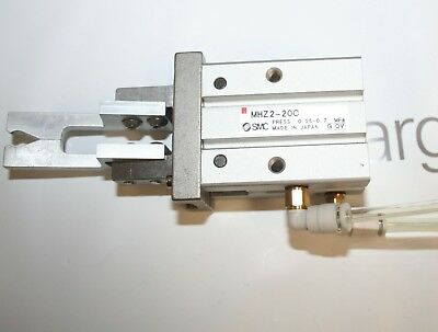 SMC MHZ2-20C Parallel Style Air Gripper Cylinder (made in Japan)