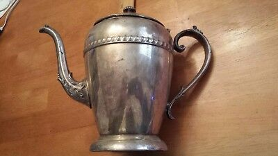 Federal Silver Company Silverplated Pitcher  Water Tea-pot coffee co vintage