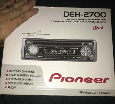 Astonishing Pioneer Super Tuner Deh P77Dh Cd Player 45W X4 Car Stereo No Wiring Wiring 101 Photwellnesstrialsorg