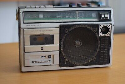 National Panasonic cassette Player Recorder, Made in Japan, Fair condition