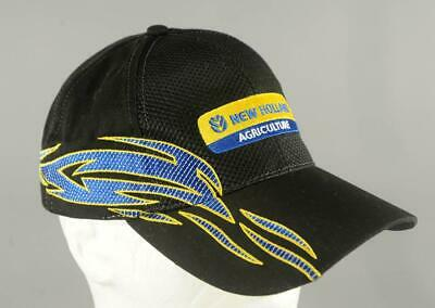 70b372790e580 New Holland Agriculture Baseball Cap Truckers Hat Black Adjustable K-  Products