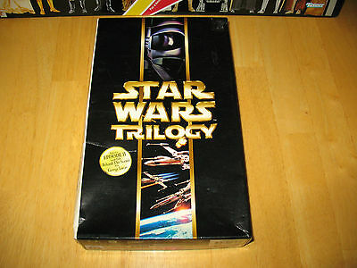 2000 Star Wars Trilogy Special Edition on VCD Malaysian Import (ANH, ESB, ROTJ)
