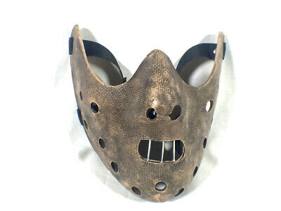 Hannibal Lector Mask, Silence of the Lambs, With Acrylic Box Case, Very Cool!