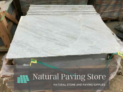 Sandstone KANDLA GREY paving 600x900 natural Indian patio slabs flags