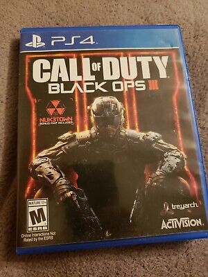 Call of Duty: Black Ops III (SONY PlayStation 4,2015) @@@@@@@@@@@@@@@@@@@@@@@