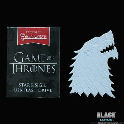 Game of Thrones House Stark Sigil USB Flash Drive 4GB Loot Crate (HBO Season 8)