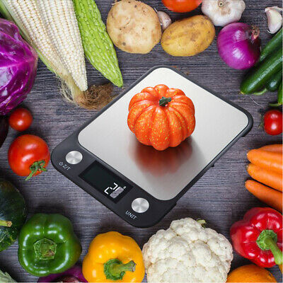 5kg/10kg Digital LCD Electronic Kitchen Cooking Food Balance Weighing Scales