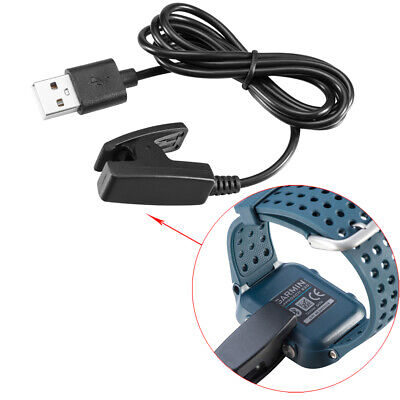 For Garmin Forerunner 735XT 235  230 630 Vivomove HR USB Data Charger Cable Clip