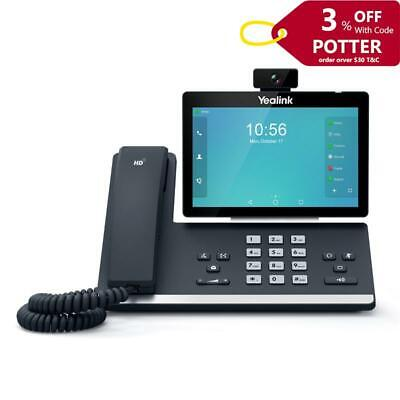 Yealink T58V 16 Line IP HD Android Video Phone Touch Screen with HD Camera CAM50