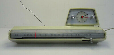 Vintage clock radio - Spaciges Uhrenradio Wecker Radiowecker Philips Radio ~60er