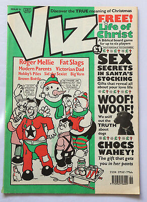 Viz Comic Issue No.51 Discover the True Meaning of Christmas Woof Woof Dogs