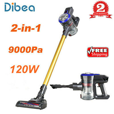 Dibea D18 2-in-1 2 Speed Cordless Handheld Stick Vacuum Cleaner 9000PA Suction